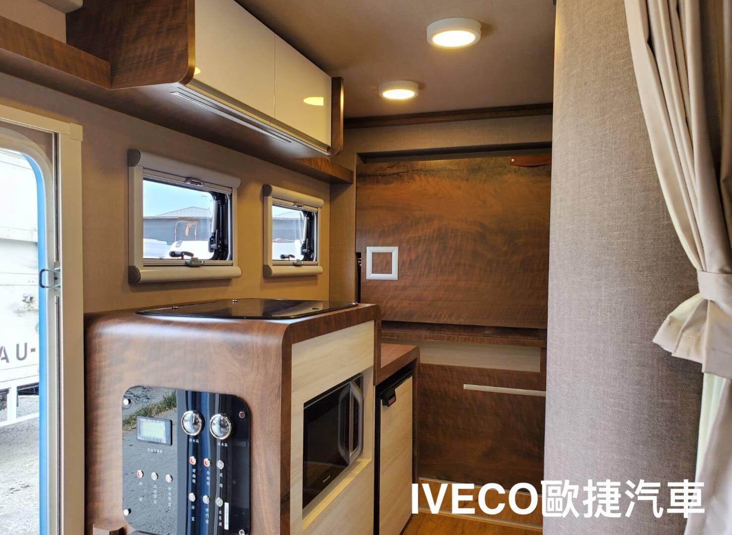 IVECO  露營車改裝內裝展示