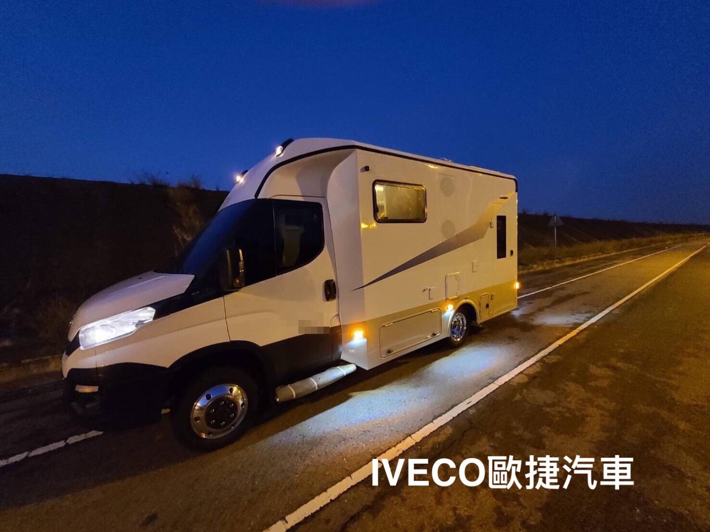 台中露營車改裝將IVECO打造成旅遊露營小幫手
