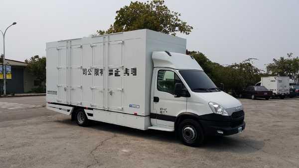 IVECO 伸縮式貨車貨斗改裝   商用貨車/中古車/歐洲貨車/露營車/行動餐車改裝